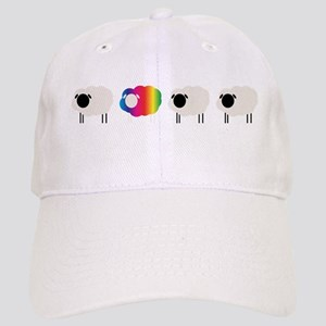 rainbow sheep Baseball Cap